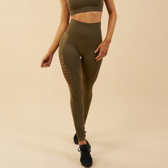 3f4e0423482ee3 Gymshark Pants | Gym Shark Energy Seamless High Waisted Leggings ...